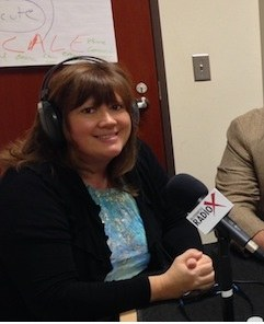 Lisa at Radio X Interview